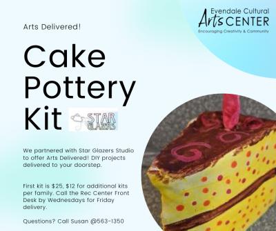 Cake pottery kit