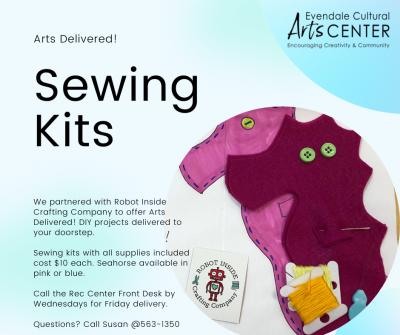 Sewing Kit Seahorse