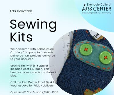 Sewing Kits - Monster