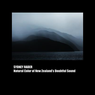 NATURAL COLOR OF NEW ZEALAND DOUBTFUL SOUND