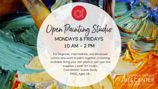 Open Painting Studio